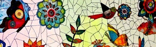 Quadro mosaico estilizado, DTQ DAC