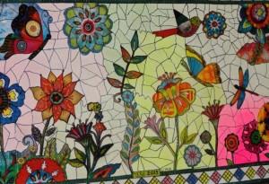 Quadro mosaico estilizado, por Rose Lima, foto WEB800